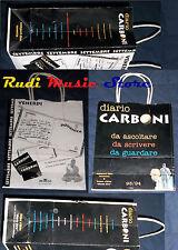 BUSTA/SACCHETTO DI CARTA PROMO LUCA CARBONI DIARIO 27,5 X 22 no cd dvd lp mc