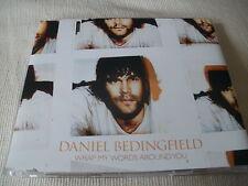 DANIEL BEDINGFIELD - WRAP MY WORDS AROUND YOU - UK CD SINGLE