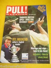 PULL! MAGAZINE - HOW TO SHOOT INCOMERS - JULY 1999