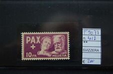 STAMPS SWITZERLAND MNH** HIGH VALUE 10FR PEACE (F9077)