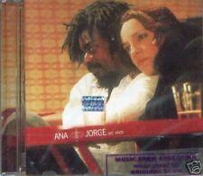 ANA CAROLINA & SEU JORGE ANA E JORGE AO VIVO SEALED CD