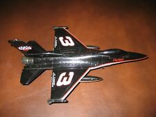Dale Earnhardt Sr F-16 Diecast Falcon Jet Top Gun Lockheed Jet
