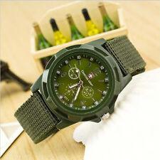 Military Analog Men's Watch Wristwatch Sport Army Quartz Canvas Strap Digital