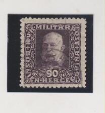 BOSNIA ,AUSTRIA,1916,90 h ,Mi 112 B,perf LZ 11 1/2 ,used,certificat SEKELJ