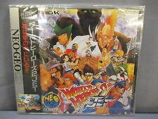 WORLD HEROES 2 JET Neo Geo CD SNK/ADK *NEW* 1994 Japan Import
