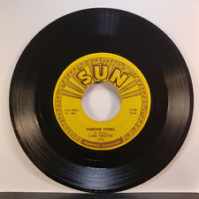"""Carl Perkins """"Forever Yours / That's Right"""" 45/Sun/274/VG+"""
