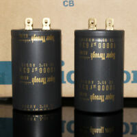 1pcs 63V 10000UF KG Super Through Nichicon Electrolytic Capacitor For Hi-Fi