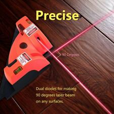 Right Angle 90 Degree Vertical Horizontal Laser Line PRojection Square Level HL
