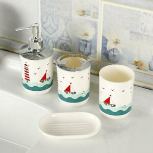 Kids Bathroom Accessories set - 4 Pieces