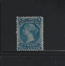 CANADA - #FB27 - 10c USED QUEEN VICTORIA BILL STAMP (1865)