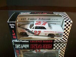 Rare Junior Johnson #27 Hansford Pontiac Co. 1962 Pontiac Catalina RCCA 1:64