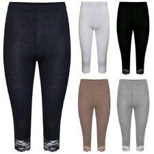 Pantalones de mujer sin marca de encaje