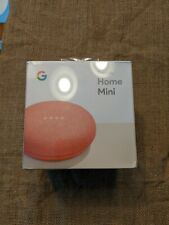 Google Home Mini (sealed New) - Coral Red