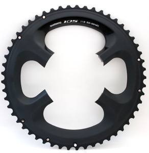 Shimano 105 FC5800 11 Spd. Alu. 4 Bolt 110mm BCD Chainring 53T RRP £75 (chipped)