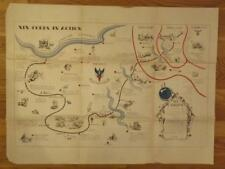 WWII XIX Corps Special Edition From D Day To Germany East Of Seigfried Line Map