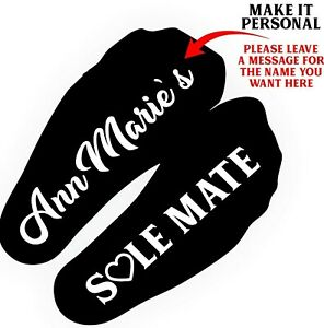 Personalised SoulMates SOCKS Husband Wife  gift for Him Her Partner Printed