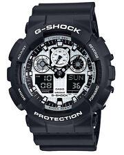 Casio G-shock Men's 50mm Ga100bw-1a Duo Watch - Black