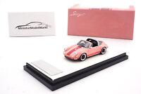 #TP911S-05 - Timothy & Pierre Porsche 911 Targa - Singer - Pink - 1:64