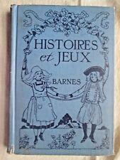 HISTOIRES ET JEUX  Jessie Barnes STORIES Songs GAMES