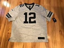 AARON RODGERS Green Bay Packers Nike LIMITED Gridiron Grey Jersey Stitched XXL