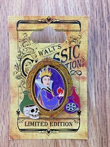 Disney Walt's Classic Collection Snow White Evil Queen , Old Hag Spinner Pin