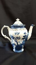 Vintage Booths Real Old Willow Porcelain Coffee Pot A8025 - Blue Willow
