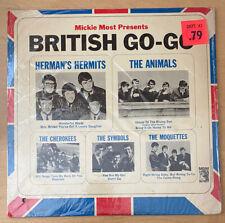 Mickie Most Presents BRITISH GO-GO MGM E4306 Vinyl LP Herman's Hermits/Animals