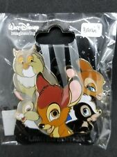 Disney D23 WDI Character Cluster LE 250 Pin Bambi Thumper Flower Friend Owl NEW
