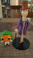 Willy Wonka and The Chocolate Factory figure dolls with oompa loompa