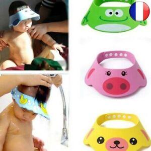 Adjustable Baby Hat Child Shampoo Bath Cap Shower Laundry Hair Visor