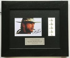 More details for the good, the bad & the ugly, clint eastwood signed repro original filmcell