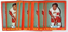 1X ALEX DELVECCHIO 1973 74 Topps #141 EXMT Lots Available Red Wings