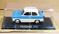1/43  - TRABANT P50 BLEUE ET BLANCHE   - URSS