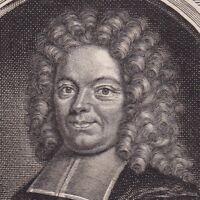Portrait XVIIIe Jacques Basnage de Beauval Jakob Basnage Pasteur Rotterdam