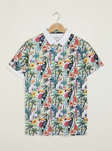 Peter Werth New Mens Casella Polo - All Over Print
