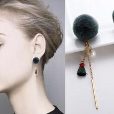 Fashion Women Rhinestone Long Tassel Ear Stud Dangle Earrings Charm Jewelry Gift