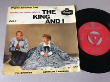 "YUL BRYNNER  THE KING AND I 45 RPM  7"" SINGLE VINYL RECORD JUKEBOX"