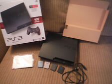 Sony PS3 Playstation 3 160GB CECH 3001A Game Console with 4 Memory Cards!