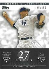 2007 Topps Moments & Milestones MARIANO RIVERA New York Yankees # 149 #'d/150