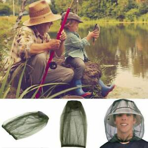 Mosquito Hat Face Protector Net Head Bee Bug Mesh Insect Fishing Fly Resistance~