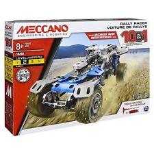 Meccano 10 in 1 Rally Racer 159pcs Model Maker Construction Set