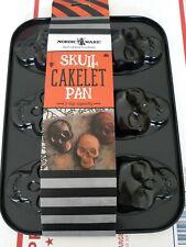 (New!) Nordic Ware Skull Cakelet Pan