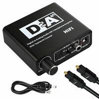 Cavo ottico coassiale da 3,5 mm per convertitore audio digitale / analogico