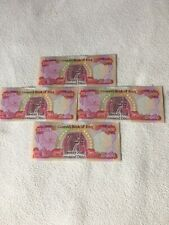 IRAQI DINAR 4 - 25,000 Notes (100,000) UNCIRCULATED. FREE SHIPPING IN THE US.