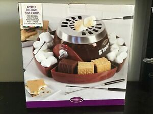 Electric S'Mores Maker - Nostalgia - BRAND NEW, Never Used