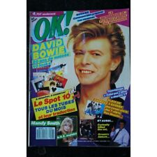 OK ! âge tendre 598  DAVID BOWIE  MANDY SMITH