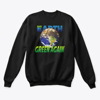Make Earth Green Again Hanes Unisex Crewneck Sweatshirt