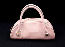"""Genuine Leather MAB Lilac Zip Small Handbag """"Mad About Bags"""""""