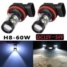 Pair H11/H8 CREE 100W FOG LIGHT LEDS BULBS DRL DRIVING LAMPS BULBS 6000K White