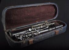 CLARINET im Koffer Nr.26044 KLARINETTE KLARNET Musikinstrument Leningrad 1967